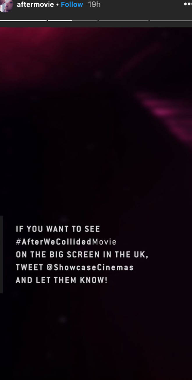 After creators are asking fans to get in touch with UK cinema chains
