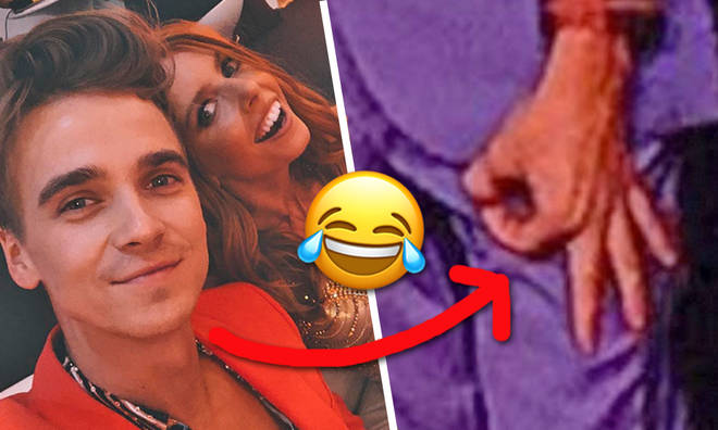 Joe Sugg's secret hand gestures on Strictly Come Dancing have been slammed as racist