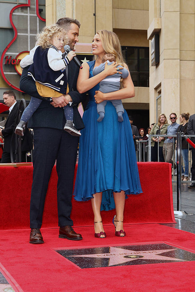 Blake Lively and Ryan Reynolds welcomed their third baby in October 2019