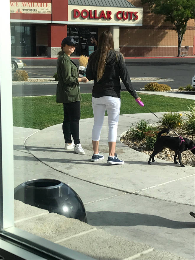 Demi Lovato was seen outside her rehab facility with a friend.