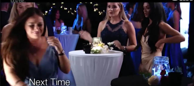 Courtney Green bursts into tears on TOWIE when confronted by Kady McDermott