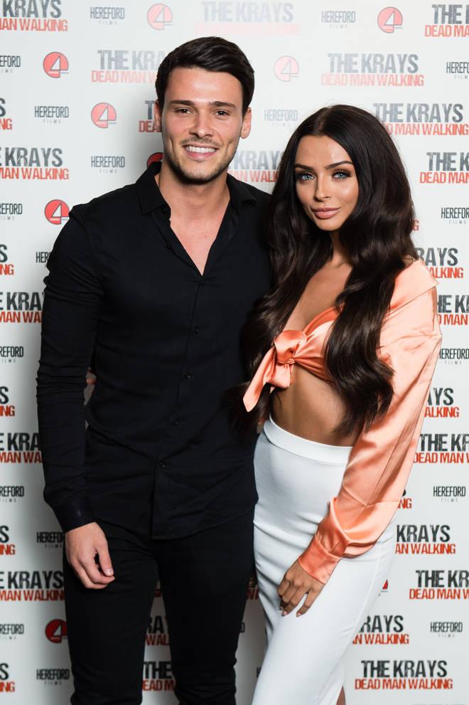 TOWIE's Myles Barnett and Kady McDermott make red carpet debut at 'The Krays' premier