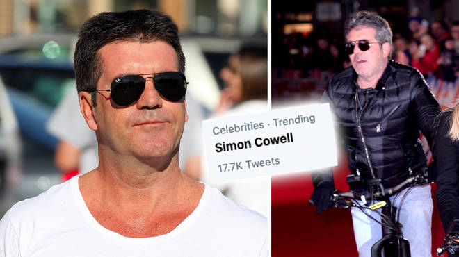Simon Cowell has injured his back after an accident