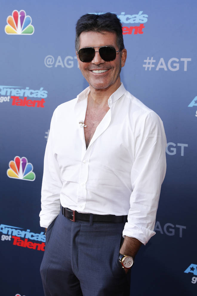 Simon Cowell at America's Got Talent - Season 15
