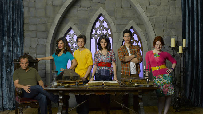 Selena Gomez starred in Wizards of Waverly Place alongside David Henrie and Jake T. Austin