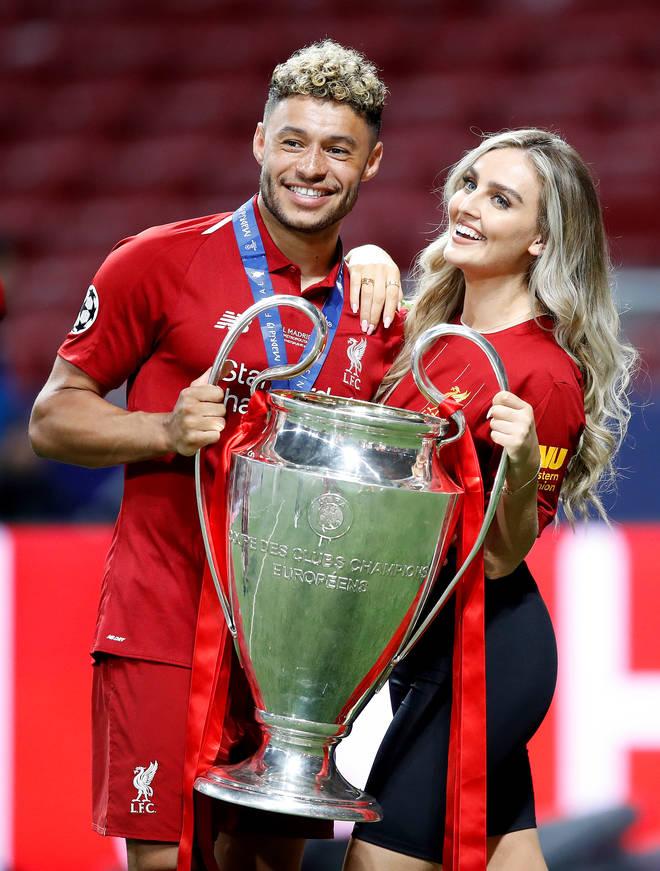 Perrie Edwards' boyfriend Alex's football team became Premier League Champions