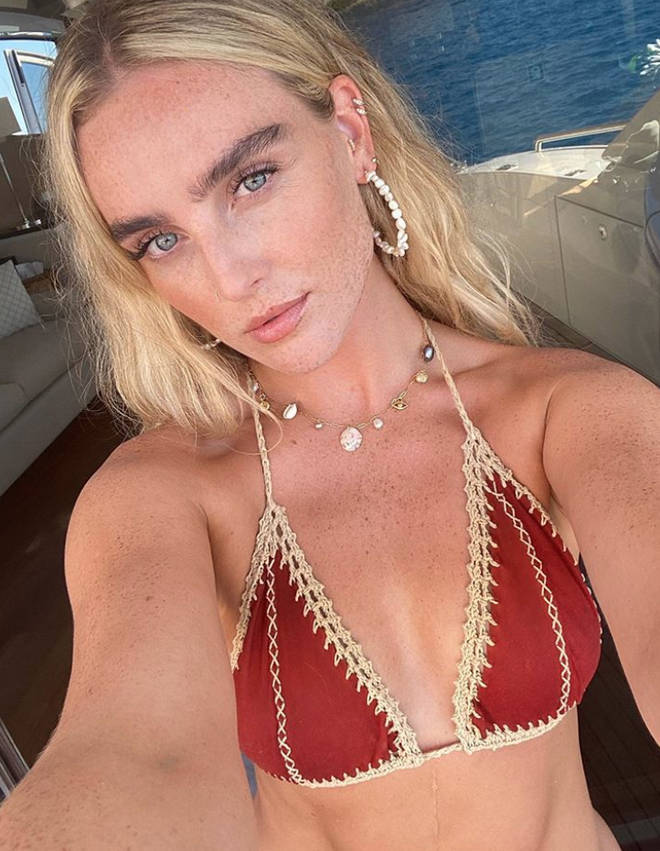 Perrie Edwards looks stunning in her new holiday photos