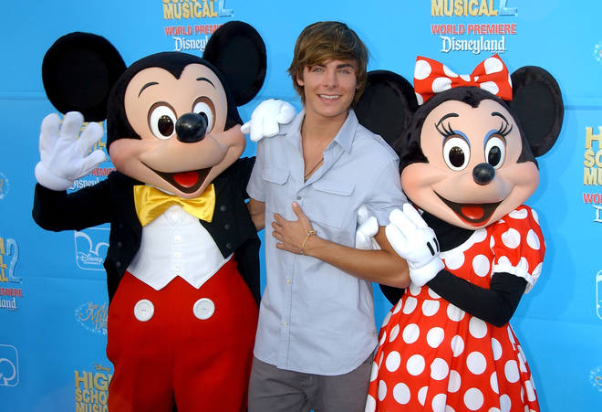 Zac Efron is returning to Disney following High School Musical
