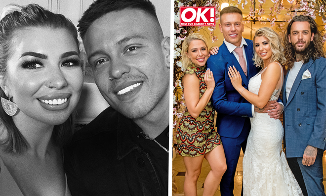 Olivia Buckland and Alex Bowen's star-studded wedding photos revealed