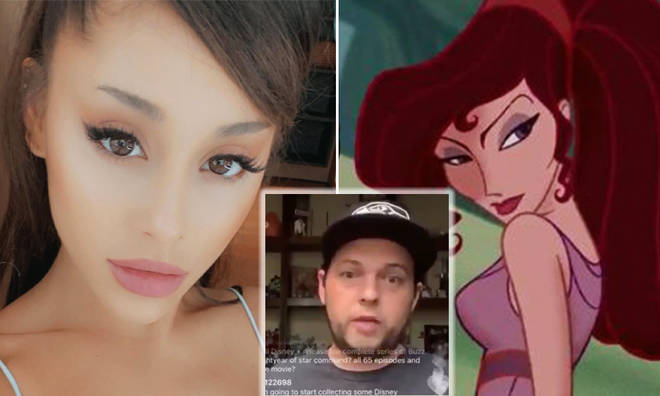 Disney to look at Ariana Grande 'first' for Hercules role