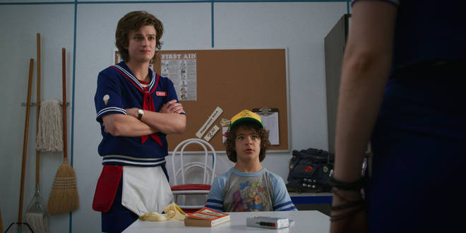 Dustin and Steve formed a bromance in Stranger Things 2