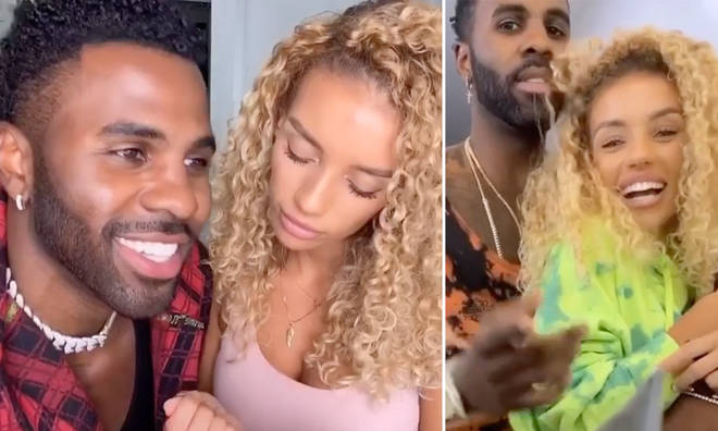 Jason Derulo and Jena Frumes have got fans wondering if they're in a relationship and if the model is his wife.