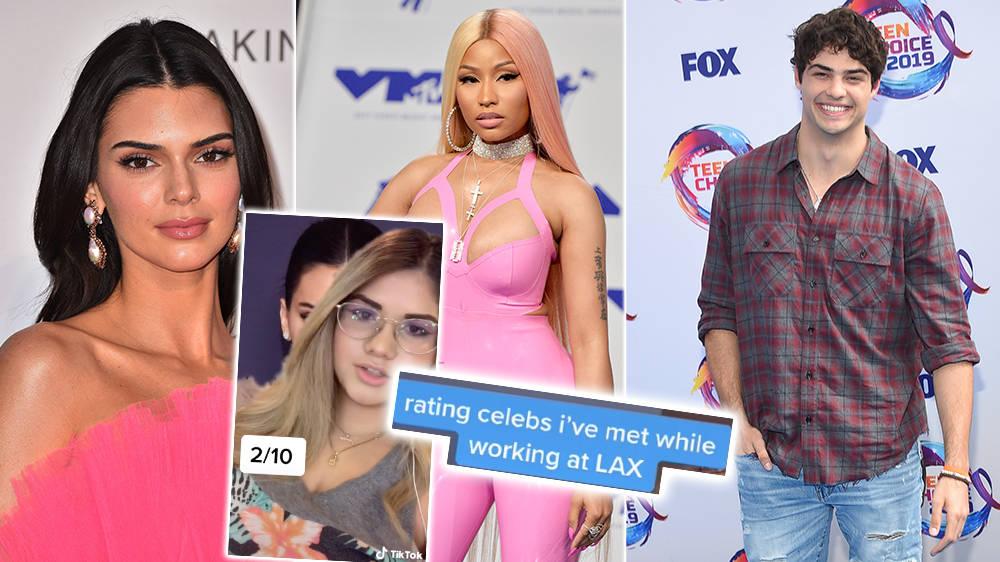 Former Airport Worker Rates Celebs' Politeness In Viral TikTok Including Kendall Jenner, Nicki Minaj & Noah... - Capital FM