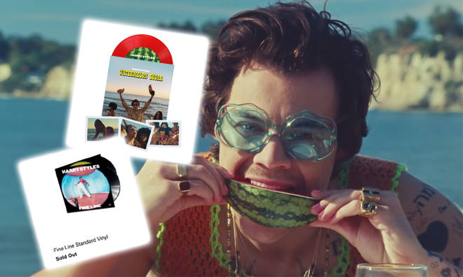 Harry Styles' fans have been trying to get their hands on a 'Watermelon Sugar' vinyl