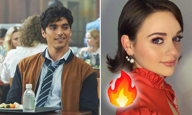 Taylor Zakhar Perez called rumoured love interest Joey King 'a goddess'