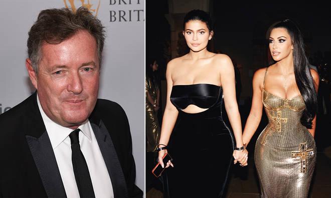 Piers Morgan called out Kim Kardashian on Twitter