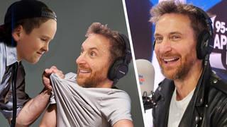 David Guetta gets grilled by Lil Roman on Capital Breakfast