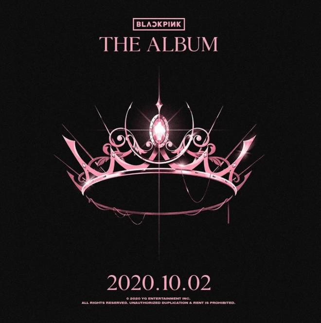 Blackpink's 2020 album cover
