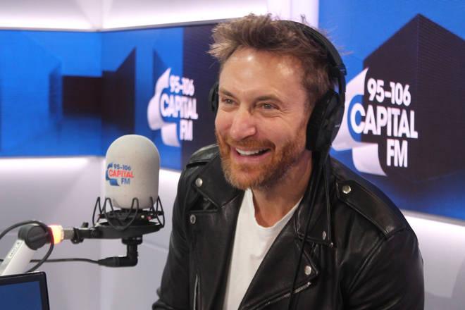 David Guetta joined Roman Kemp on Capital Breakfast
