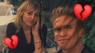 Miley Cyrus has split from her now ex-boyfriend, Cody Simpson