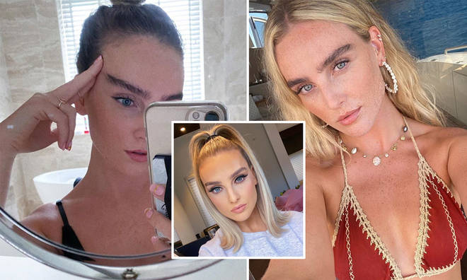 Perrie Edwards' eyebrows have become her trademark look