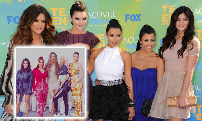 How old are the Kardashian/Jenner sisters?