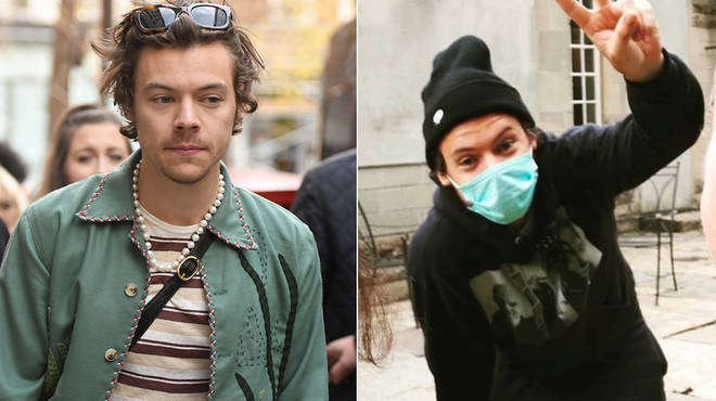 Harry Styles being spotted in Bath has fans believing his making new music