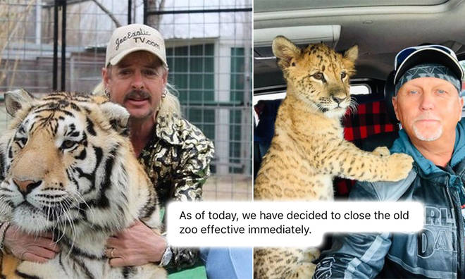 The exotic cat zoo from Tiger King has officially closed its doors to the public