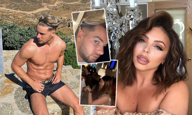 Chris Hughes lives his best single life on holiday following Jesy Nelson split
