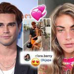 KJ Apa has flaunted his romance with his new girlfriend Clara Berry