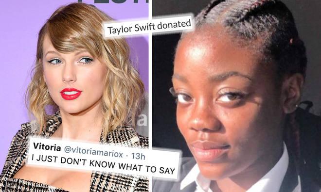 Taylor Swift donates thousands to aspiring mathematicians GoFundMe