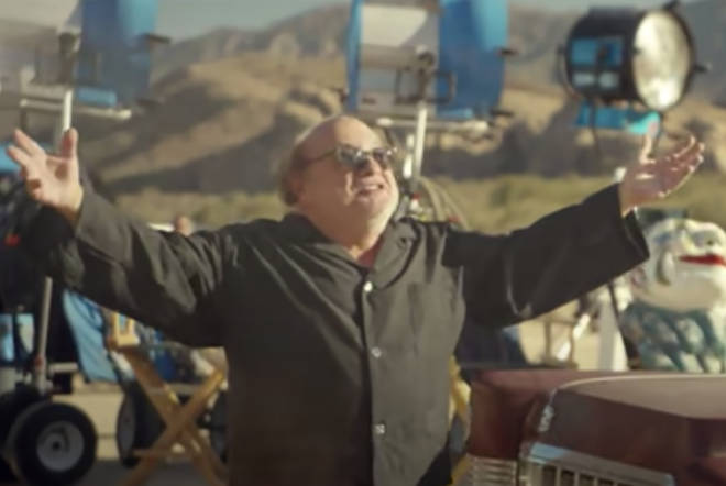 Danny DeVito played the eccentric director in the 'Steal My Girl' video