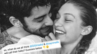 Vote for the name you think Gigi and Zayn will call their baby?