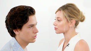 Cole Sprouse and Lili Reinhart share their first experiences with each other
