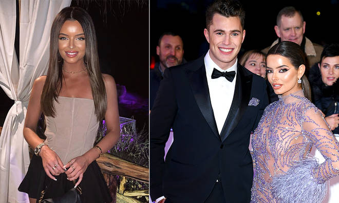 Maura Higgins said 'it's not nice to see' Curtis Pritchard's PDA pictures with Amber Pierson