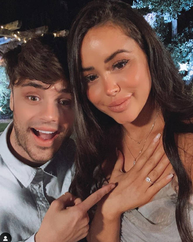 Marnie Simpson announced she is engaged to Casey Johnson