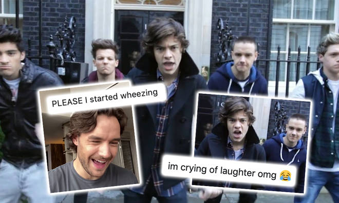 One Direction fans were so here for Liam Payne's reaction