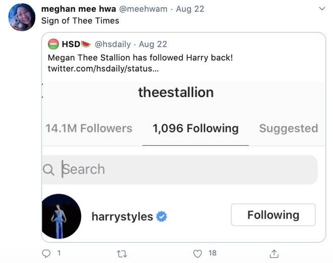 Fans want a Megan Thee Stallion verse on 'Watermelon Sugar'