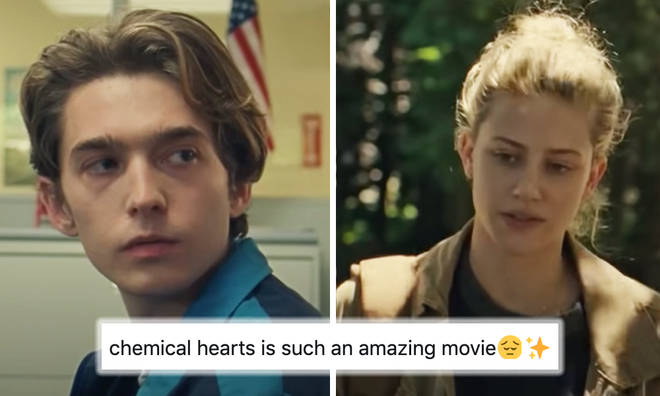 Lili Reinhart and Austin Abrams star in sob fest 'Chemical Hearts'
