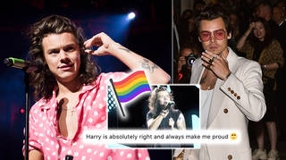 Harry Styles fans praised the One Direction star for his iconic speech