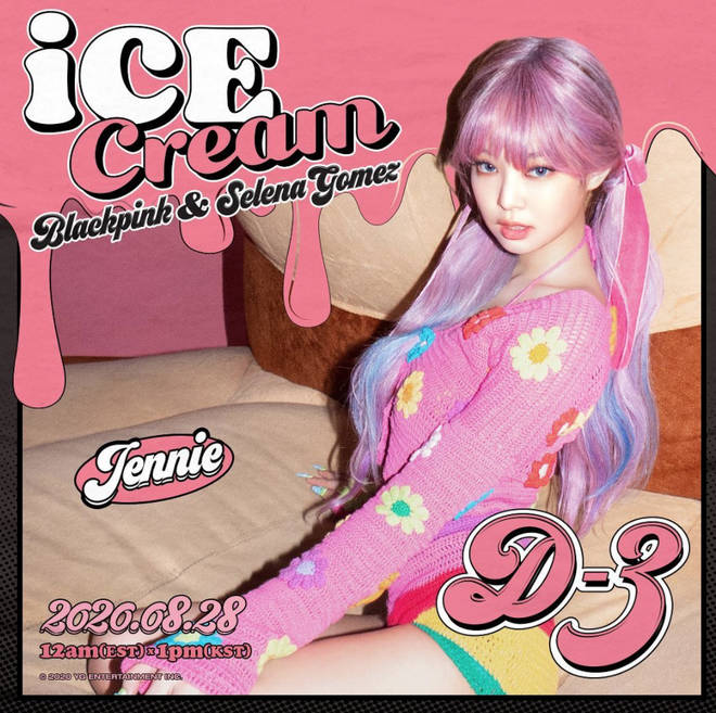Blackpink's song with Selena Gomez is called 'Ice Cream'