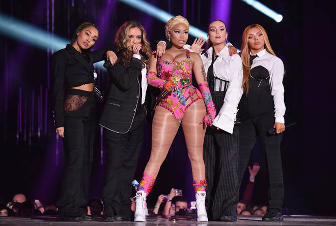 Little Mix performed at the EMAs 2018 with Nicki Minaj