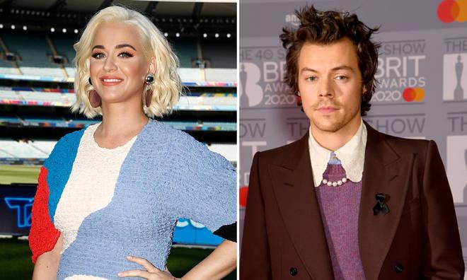 Katy Perry is a huge Harry Styles fan