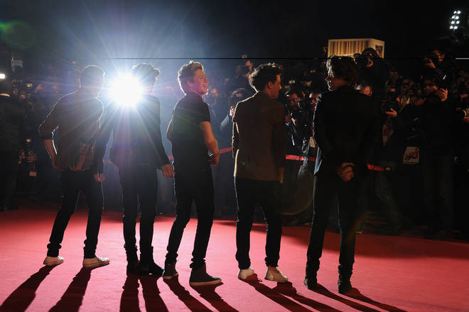 One Direction at the NRJ Music Awards 2013
