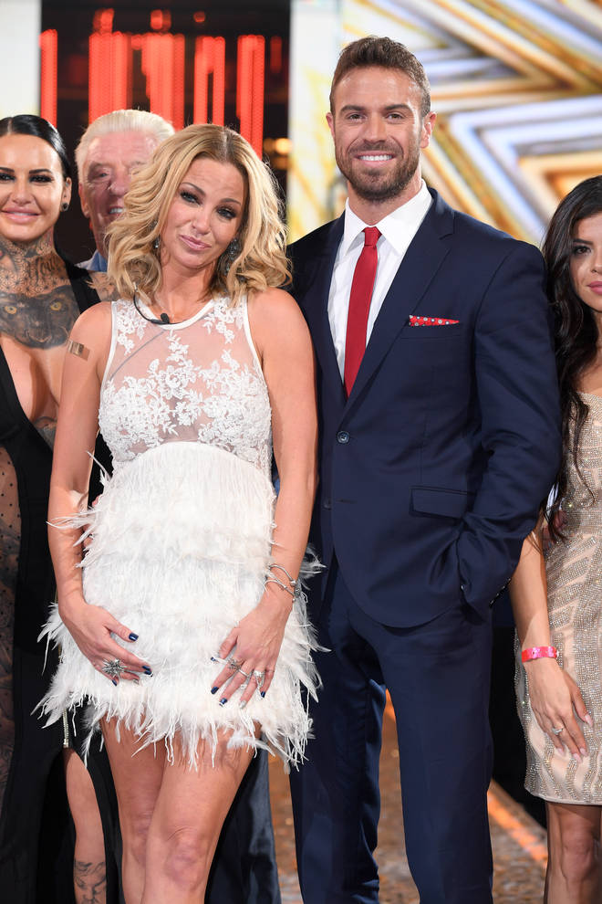 Sarah Harding and Chad Johnson found romance in Celebrity Big Brother