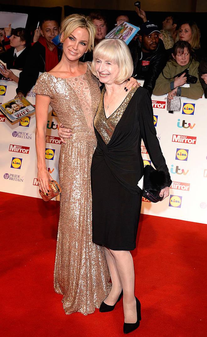 Sarah Harding is super close to her mum Marie Hardman