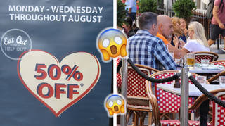Restaurants are extending the 'Eat Out To Help Out' scheme into September