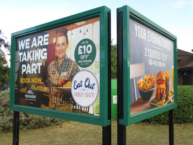 Harvester has announced it's extending the eat out scheme into September