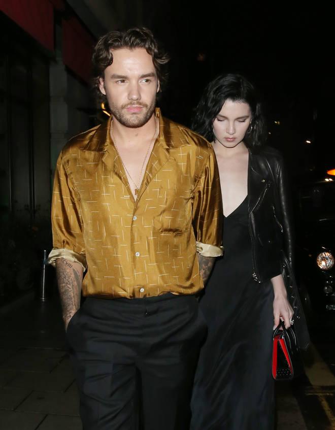 Liam Payne and Maya Henry leave Novikov restaurant