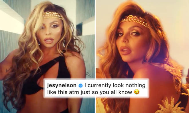 Little Mix's Jesy Nelson reveals weight gain after 'Holiday' music video in honest post
